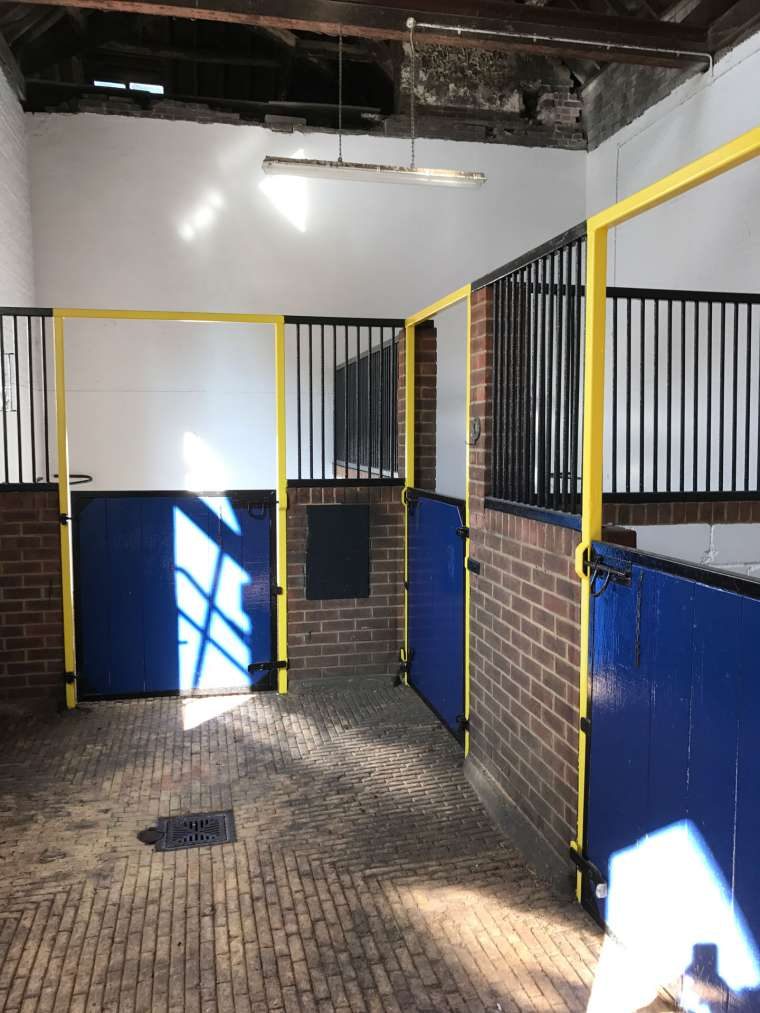 After - Horse Stables Refurbishment Bryanston School Blandford - Emerald Painters Portfolio