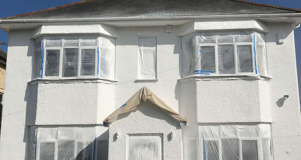 Domestic Property Exterior Spraying