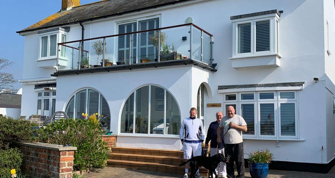 Exterior Painting Contract at Mudeford for Local Councillor