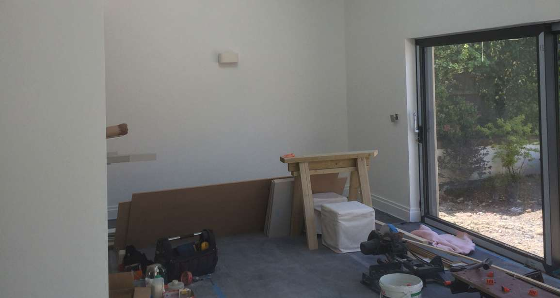 Interior Painting of a Bungalow in Wick Lane Christchurch