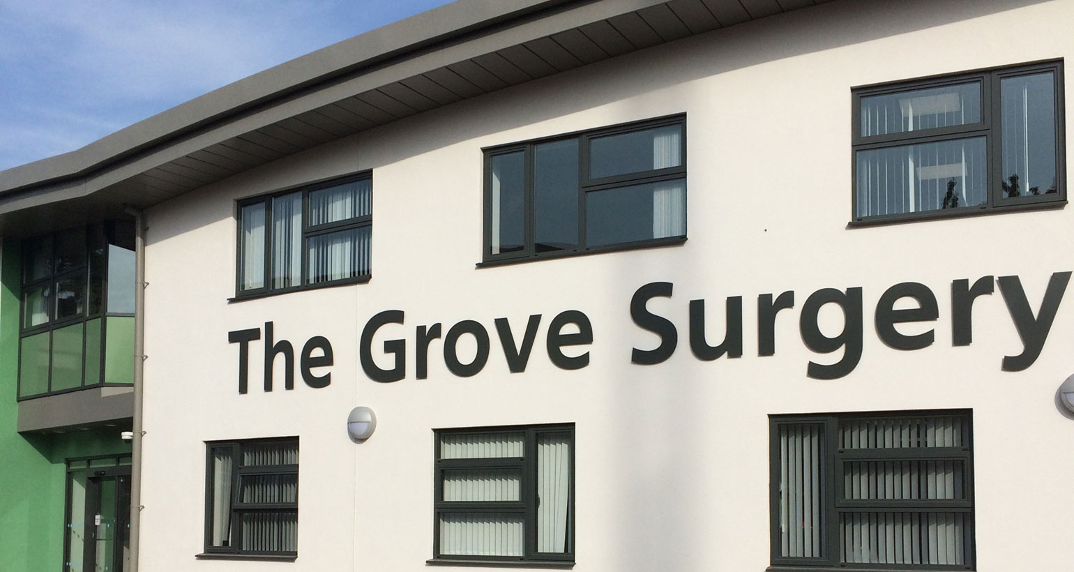 Painting The Grove Surgery GP in Christchurch