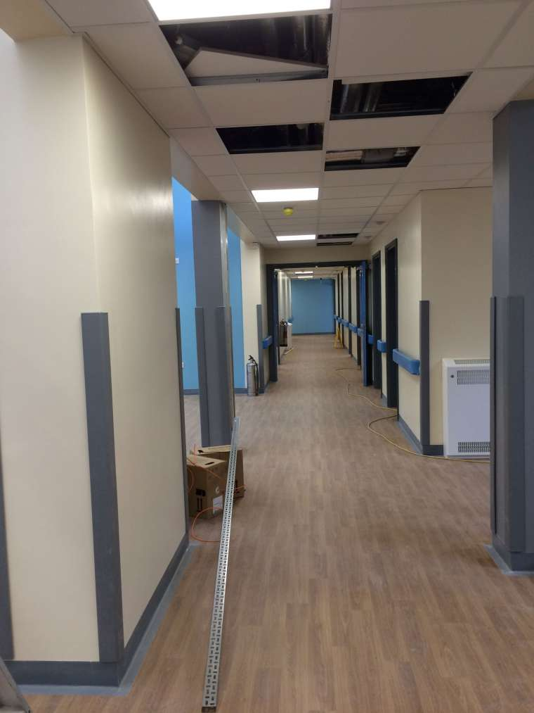 Interior Painting and Decoration of Christchurch Hospital - Emerald Painters Portfolio