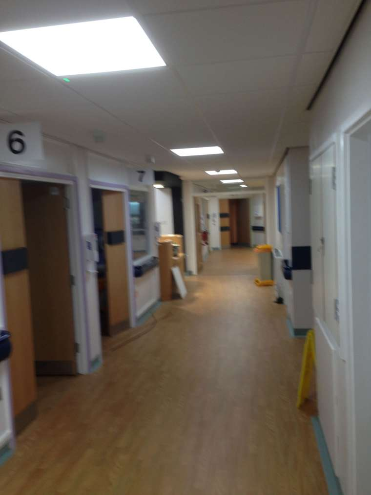 Interior Painting Poole Hospital Ward C3