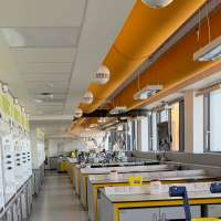 Southampton University – Painting of Chemistry Labs