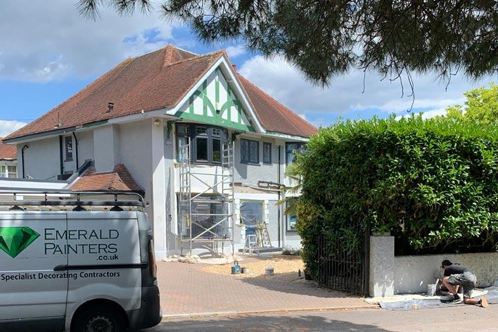 Featured - Refurbishment and Redecorating of Home in Woodland Walk Boscombe Bournemouth by Emerald Painters