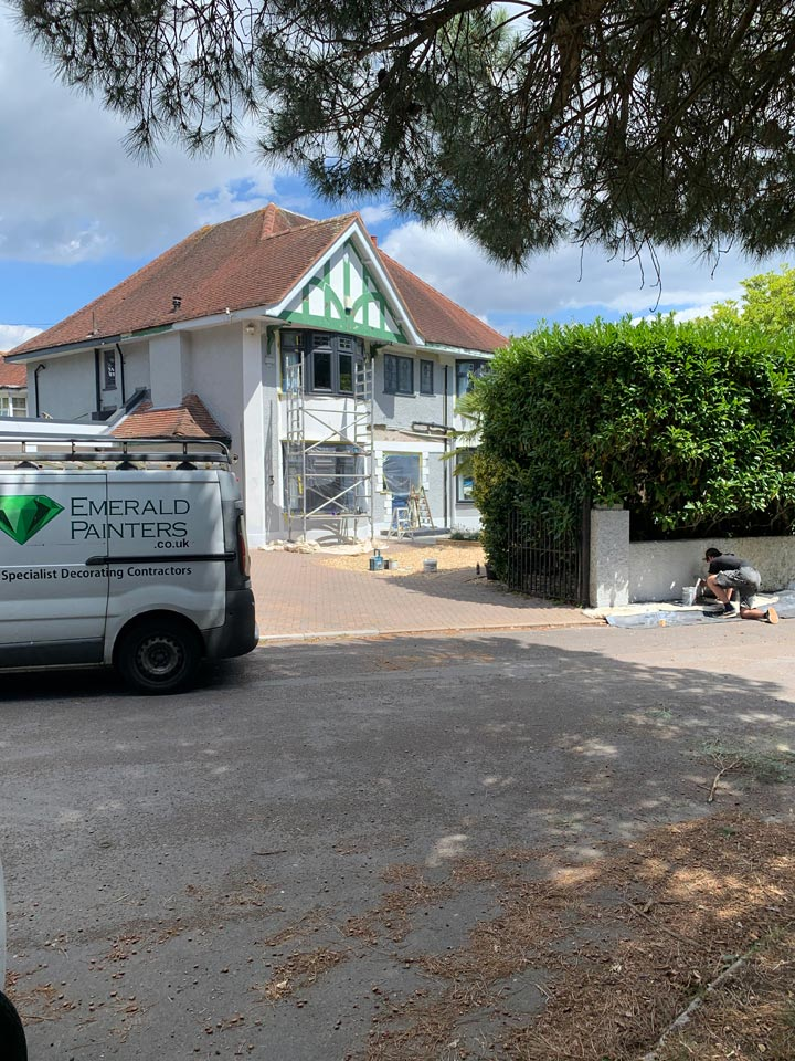 Refurbishment and Redecorating of Home in Woodland Walk Boscombe Bournemouth Before by Emerald Painters