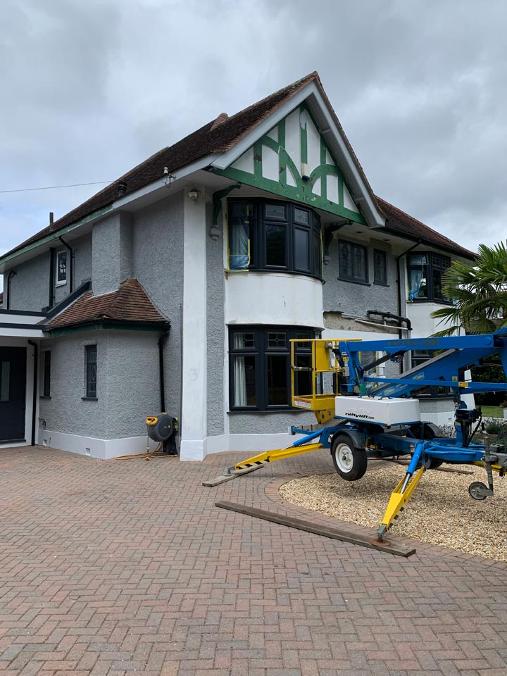 Refurbishment and Redecorating of Home in Woodland Walk Boscombe Bournemouth During by Emerald Painters