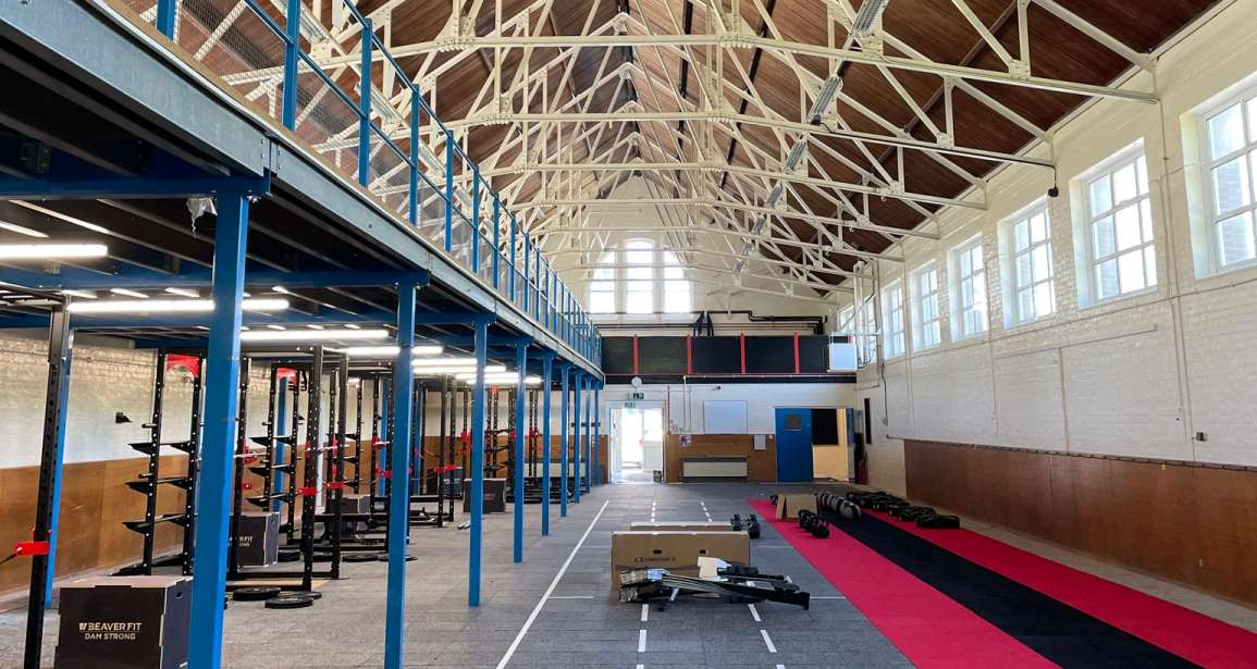 Painting the Strengthening and Conditioning Centre at Allenby Barracks - Bovington Tank Garrison by Emerald Painters